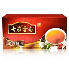 七彩云南 茉香普洱袋泡茶 生茶 50克/盒