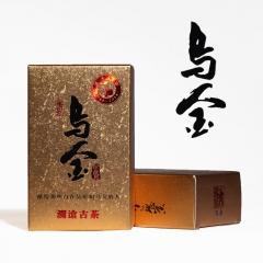 2016年澜沧古茶 乌金 熟茶 1000克/盒