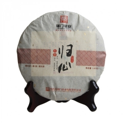 2016年蒲门 家香系列 归心 熟茶 357克/饼