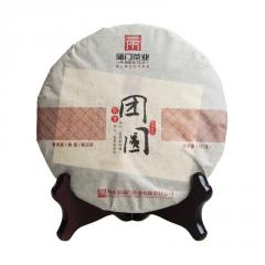 2016年蒲门 家香系列 团圆 熟茶 357克/饼