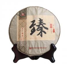 2016年蒲门 濮仁系列 臻濮 熟茶 357克/饼