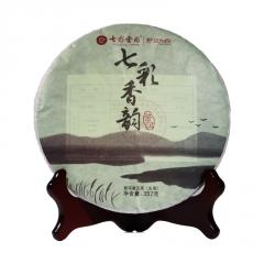 七彩云南 七彩香韵 生茶 357克/饼