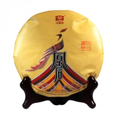 2017年大益 鸡年生肖纪念茶 凰后归来 生茶 357克/饼