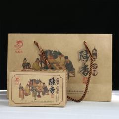 2016年龙园号 陈香方砖 熟茶 400克/盒