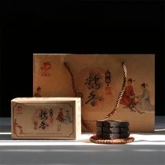 2016年龙园号 糯香方砖 熟茶 400克/盒