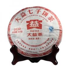 2011年大益 0532 101批 熟茶 357克