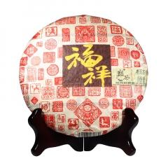 2016年巅茶 福祥 熟茶 357克/饼