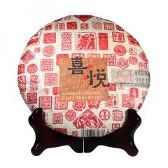 2016年巅茶 喜悦 熟茶 357克/饼