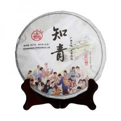 2017年八角亭 知青 生茶 357克/饼