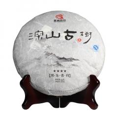 2016年茗纳百川 深山古树·四星邦东昔归 生茶 357克/饼