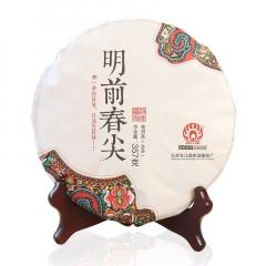 2017年勐傣 明前春尖 生茶 357克/饼