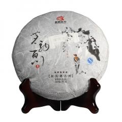 2016年茗纳百川 五星刮风寨古树 生茶 357克/饼