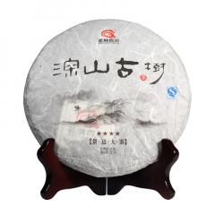 2016年茗纳百川 深山古树·四星景迈大寨 生茶 357克/饼