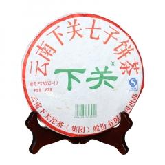 2010年下关  FT8653 泡饼 生茶 357克/饼 单片