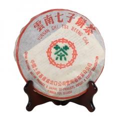 2004年中茶 (勐海茶厂)7532 生茶 357克/饼