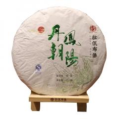 2017年拉佤布傣 丁酉鸡年生肖纪念饼 丹凤朝阳 生茶 357克/饼