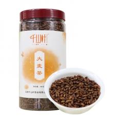 千山叶 大麦茶 花草茶 360克/罐