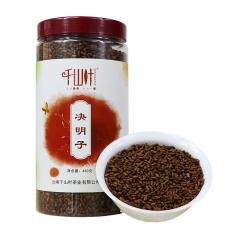 千山叶 决明子 花草茶 450克/罐