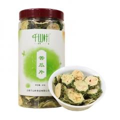 千山叶 苦瓜片 花草茶 80克/罐