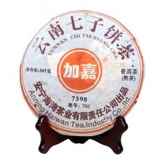 2007年老同志 加嘉 7598 熟茶 357克/饼