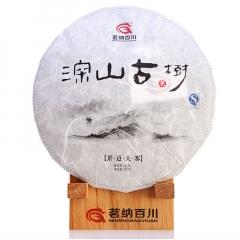 2015年茗纳百川 景迈大寨 生茶 357克/饼