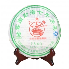 2007年八角亭 7540 生茶 357克/饼
