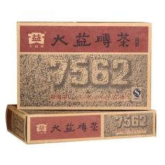 2006年大益 7562 砖茶 熟茶 250克/砖
