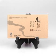 2011年斗记 香斗砖茶 生茶 250克/盒 1盒