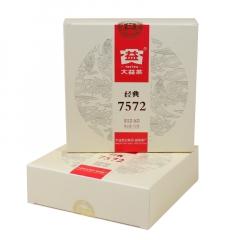 2015年大益 经典7572 熟茶 150克/盒