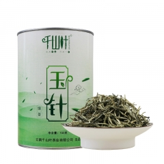 千山叶 云南滇青绿茶 玉针 150克/罐
