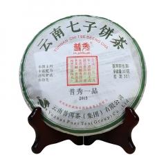 2013年普秀 普秀一品 生茶 357克/饼