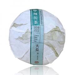 2016年大益 甲 青沱 1601批次 生茶 100克/沱