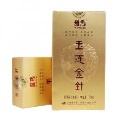 2013年普秀 玉莲金针 熟茶 100克/盒