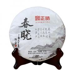 2017年正皓 春晓 生茶 357克/饼