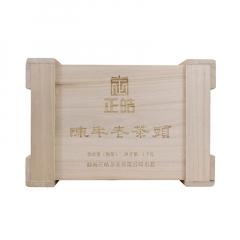 2017年正皓 陈年老茶头 熟茶 1000克/盒