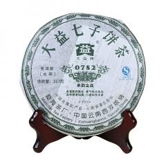 2007年大益 0782 701批次 生茶 357克/饼