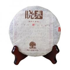2017年福元昌 晓春(易武头春纯料) 熟茶 200克/饼 单片