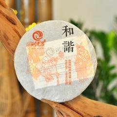 2015年润元昌 和谐 熟茶 360克/饼