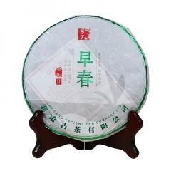 2017年澜沧古茶 早春景迈 生茶 357克/饼