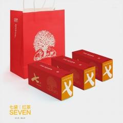 福元昌 七袋 红茶 35克/盒 1盒