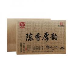2016年大益 陈香厚韵 熟茶 2000克/砖