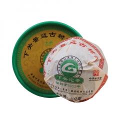 2012年下关 景迈古树沱茶 生茶 100克/沱