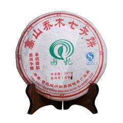 2007年国艳 高山乔木 生茶 357克/饼