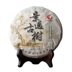 2016年国艳 景迈古树 生茶 357克/饼