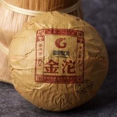 2014年国艳 金沱 熟茶 200克/沱