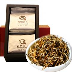 2017年茗纳百川 珍品金芽 红茶 200克/盒