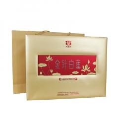 2013年大益 金针白莲 熟茶 礼盒 400克/套