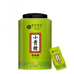 七彩云南 庆沣祥新会小青柑 柑普茶 熟茶 350克/罐