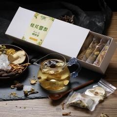 千山叶 桂花雪梨咽喉茶 组合花草茶 240克/盒