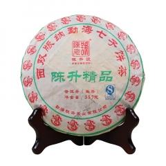 2012年陈升号 陈升精品 生茶 357克/饼